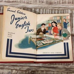 1948  junior english stoddard bailey lewis